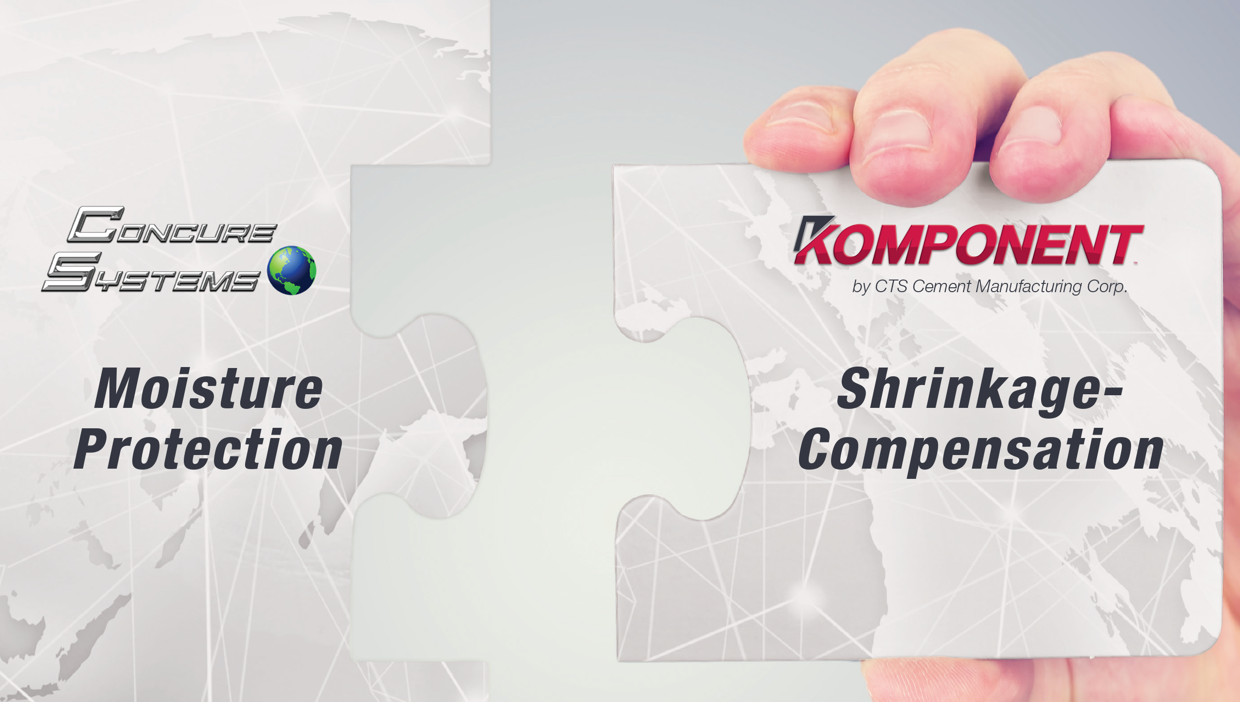 Concure Systems & Komponent Partnership